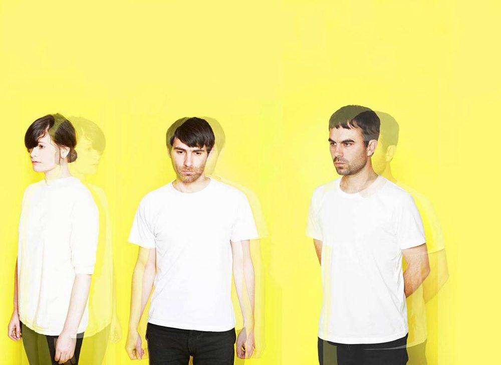 The members of London-based band Factory Floor. (Courtesy of Factory Floor via Facebook)