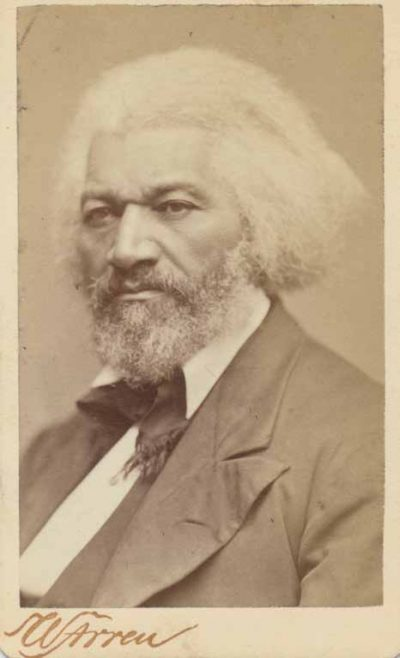 A classic image of Frederick Douglass. (Courtesy of John Stauffer)
