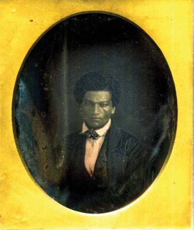 The oldest know photograph of Frederick Douglass. (Courtesy of the Collection of Greg French)