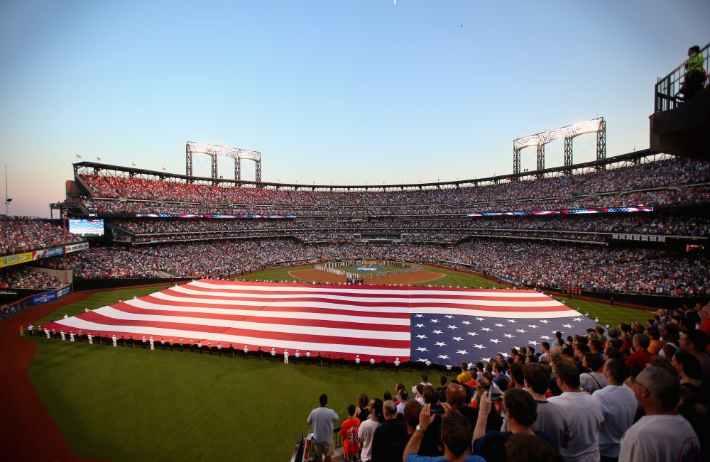 Should America's national anthem tradition change? (Bruce Bennett/Getty Images)