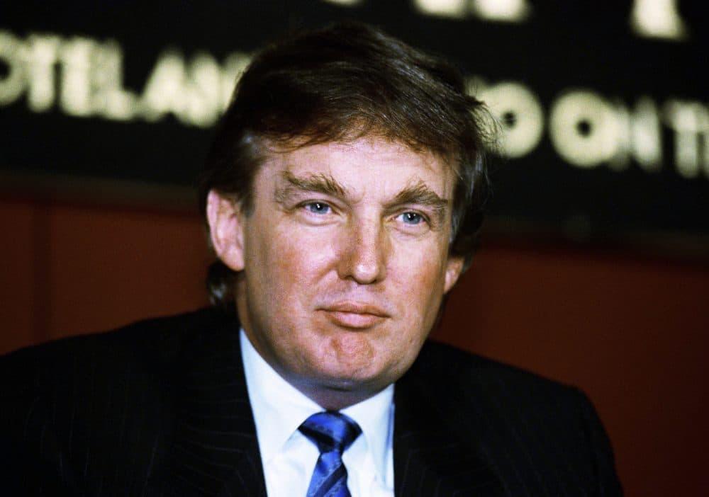 Donald Trump in 1990. (Mark Lennihan/AP)