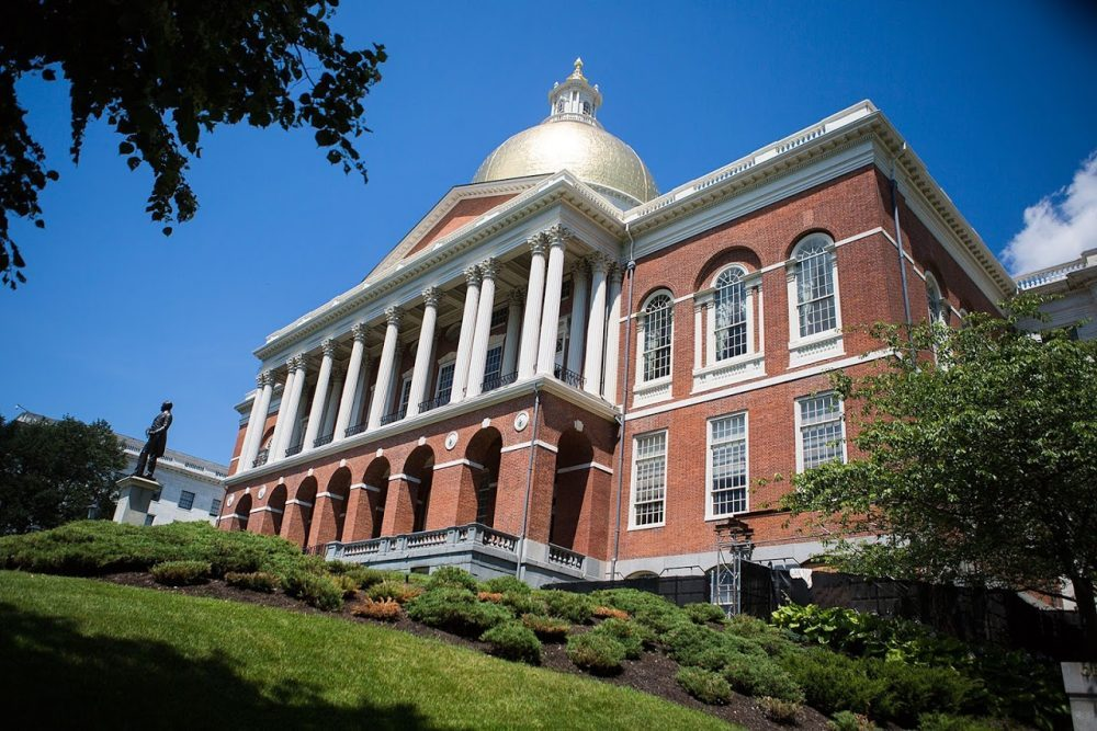 The Massachusetts State House (Jesse Costa/WBUR)