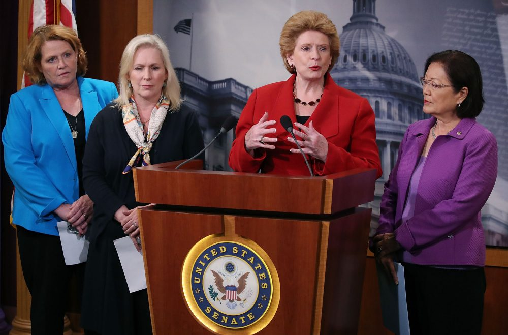 Sen. Debbie Stabenow (D-MI), speaks about the Senate's recent failed vote for funding to fight the Zika virus, on Capitol Hill June 29, 2016 in Washington, D.C. (Mark Wilson/Getty Images)