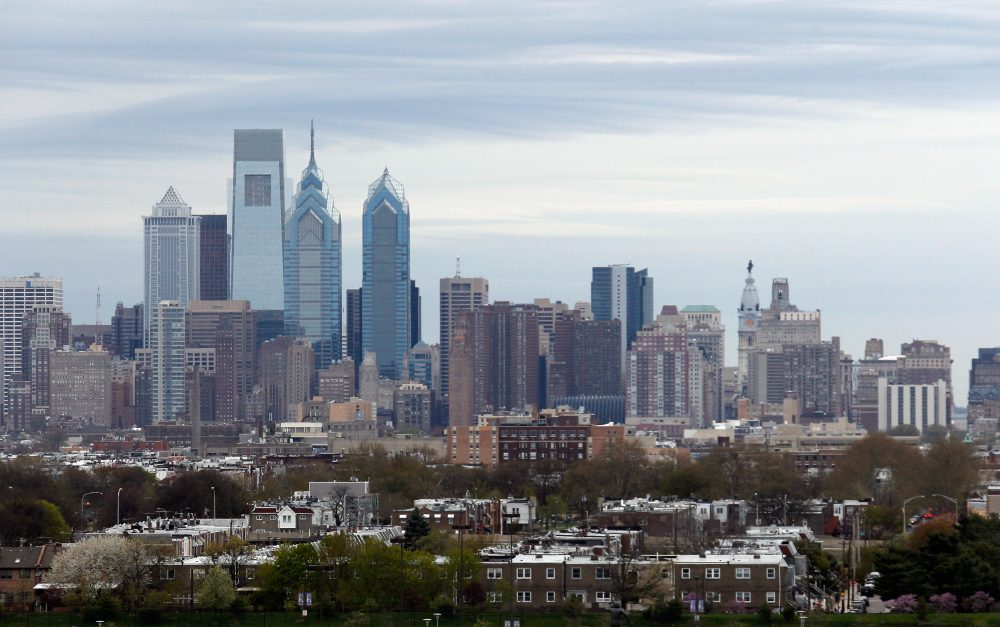 A view of the Philadelphia city skyline on April 25, 2014. (Bruce Bennett/Getty Images)