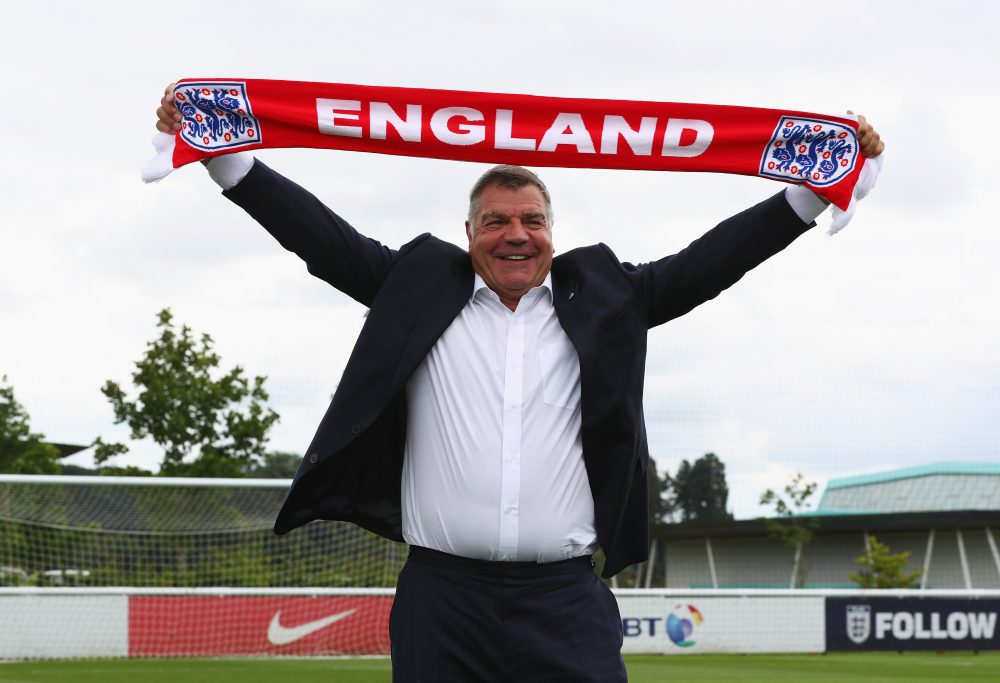 Recently appointed England manager Sam Allardyce began his career in the second division of Irish football with Limerick F.C. (Matthew Lewis/Getty Images)