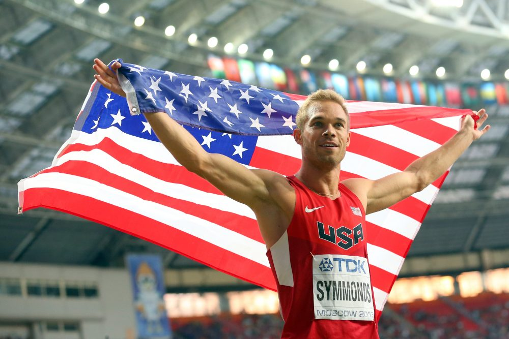 Track and field star Nick Symmonds, who will miss Rio 2016 due to injury, is a co-founder of Run Gum, a caffeinated product designed for use before exercise. (Julian Finney/Getty Images)