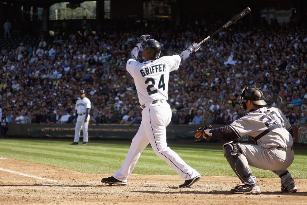 adf85bd285 Ken Griffey Jr. was inducted into the Baseball Hall of Fame last weekend. (