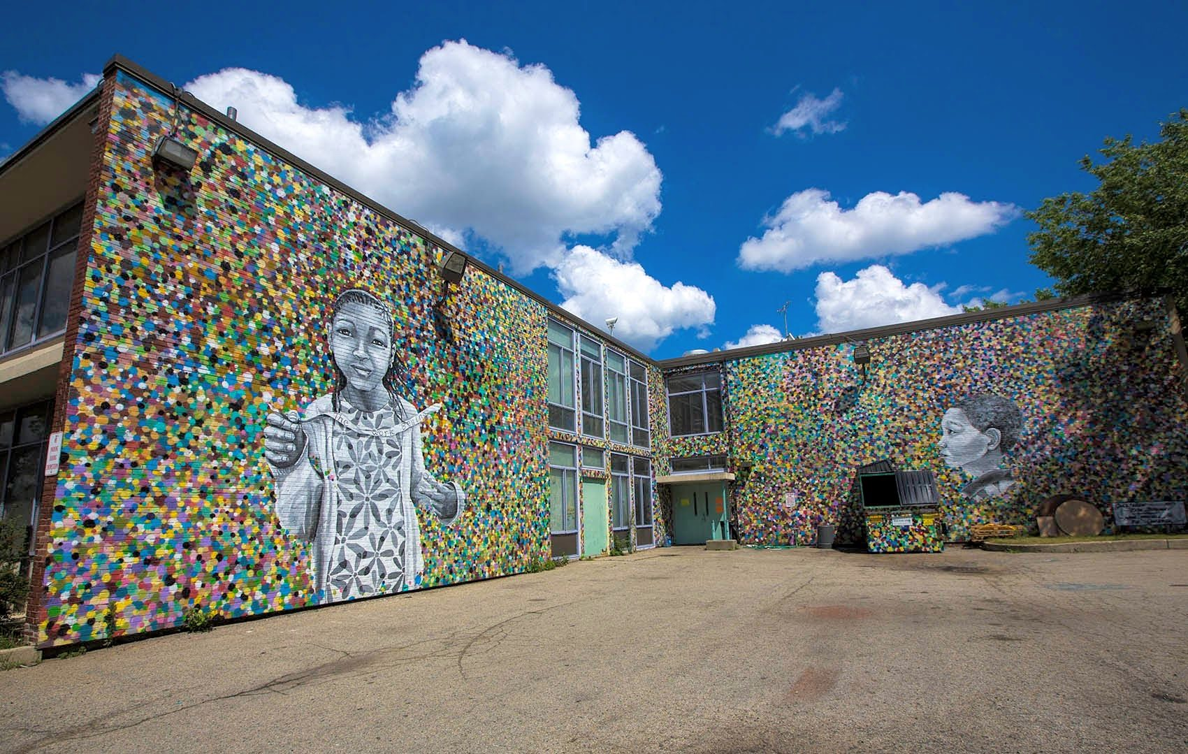 A Tour Of Street Art In Roxbury By Boston Artist Cedric