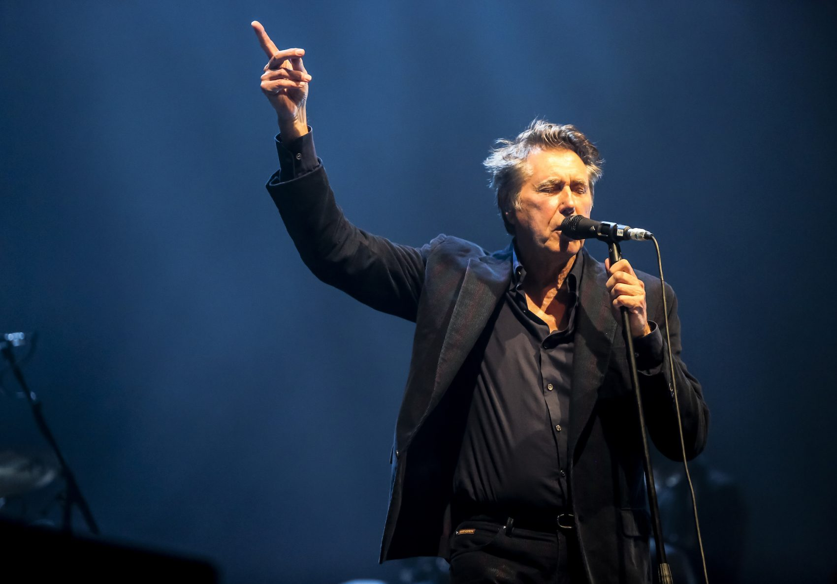Bryan Ferry performing live at the New Theatre Oxford in England on May 9, 2015. (Courtesy Bryan Ferry)