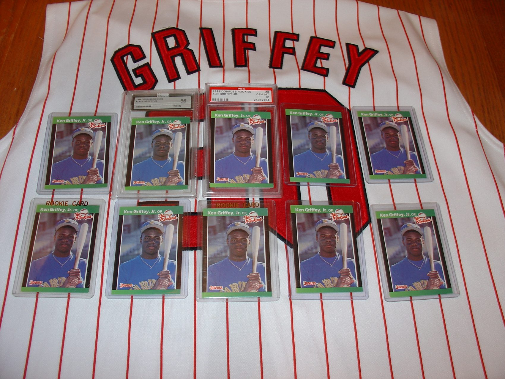 A Ken Griffey Jr Card Collection Fit For The Hall Of Fame