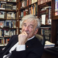 "Alex Green: ""Six million of our souls went up over Europe during the Holocaust. With ""Night,"" Elie Wiesel returned to us one slim, howling tribute testifying to the fact of their existence."" In this Sept. 12, 2012, photo Elie Wiesel is photographed in his office in New York. Wiesel, the Nobel laureate and Holocaust survivor, died Saturday, July 2, 2016 at the age of 87. (Bebeto Matthews/AP)"