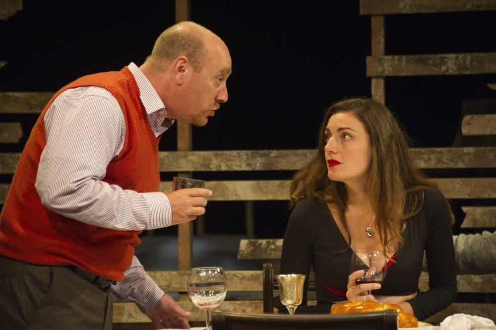 Gabriel Kuttner and Andrea Goldman. (Courtesy  Kippy Goldfarb/Gloucester Stage Company)