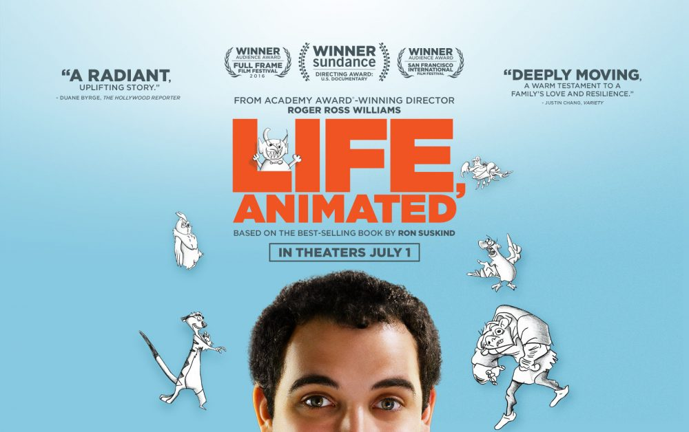 """""""Life, Animated"""" the documentary is based on Ron Suskind's book, """"Life Animated: A Story of Sidekicks, Heroes and Autism."""" (Courtesy Life Animated Doc LLC)"""