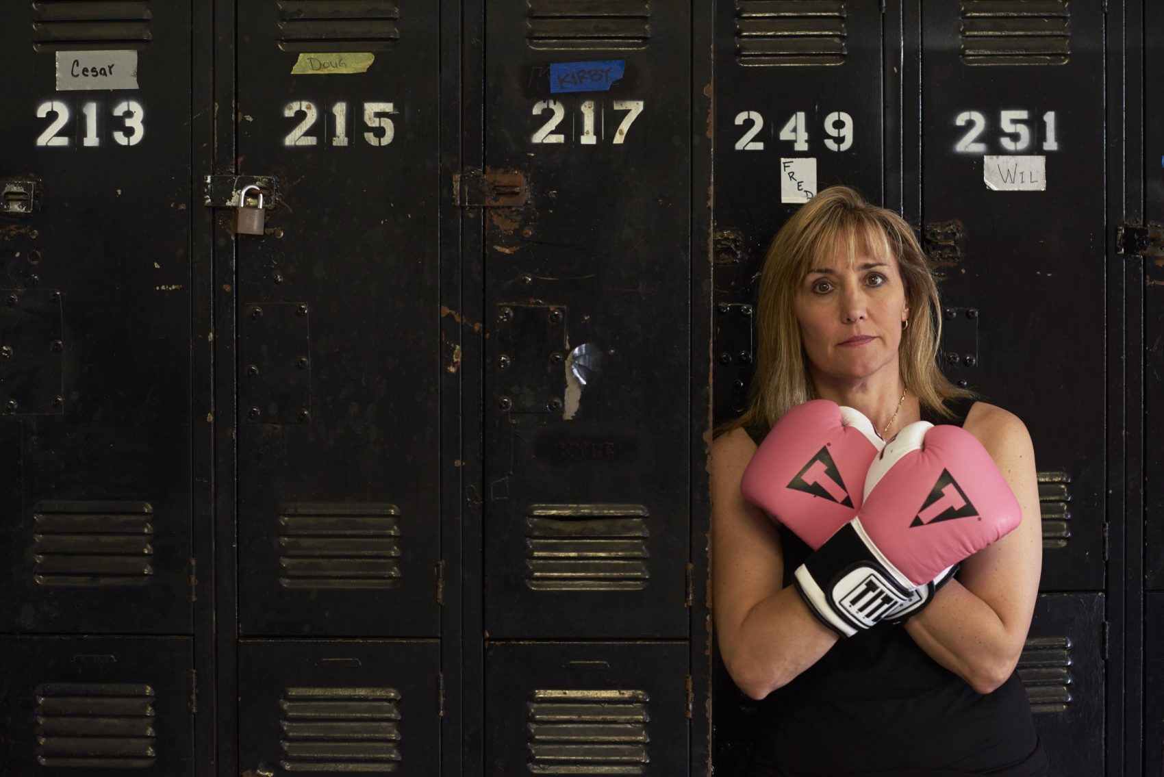 In 1996, Christy Martin was a champion boxer and on the cover of Sports Illustrated. In 2010, she was stabbed, shot and left for dead. (Bill Frakes/SI)