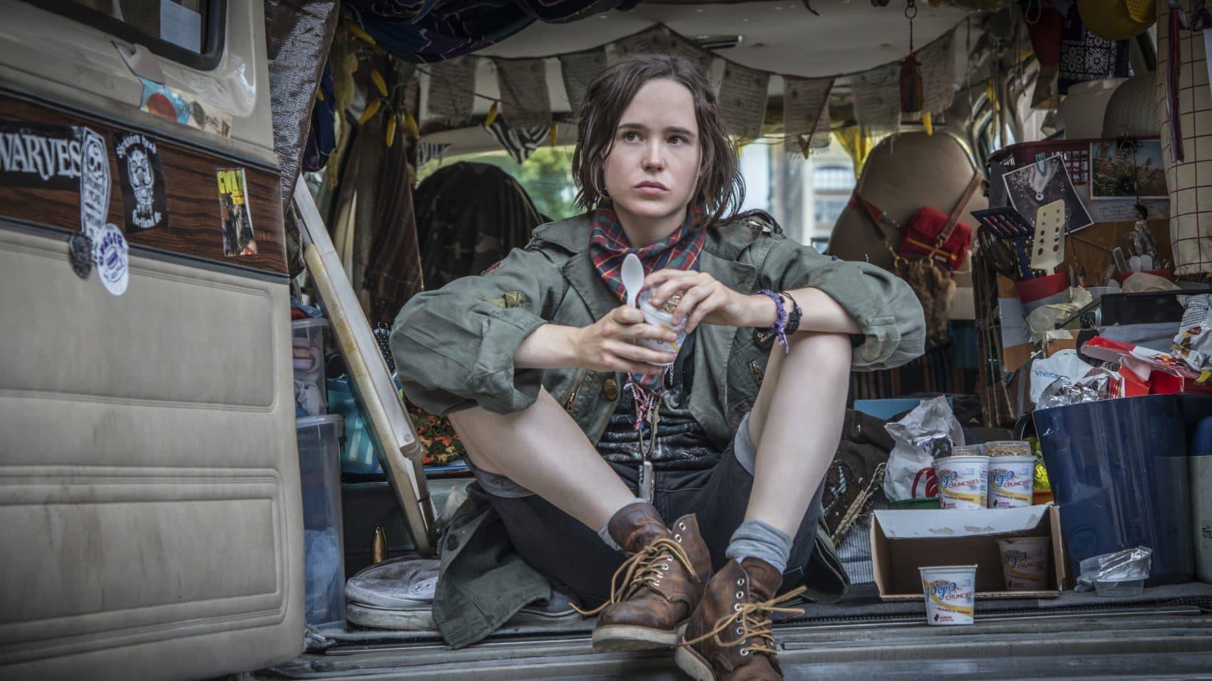 "Ellen Page in the film ""Tallulah."" (Courtesy Netflix)"