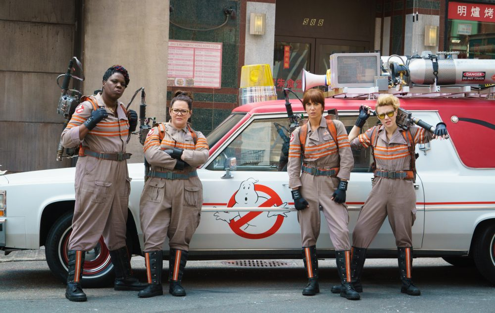 The Ghostbusters reboot was filmed mostly around Boston. (Courtesy Sony Pictures)