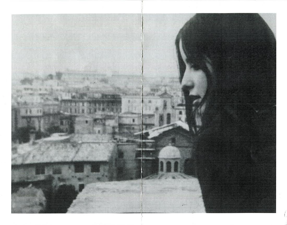 """The author's friend, Elizabeth """"Mopsy"""" Matthews, looks out over the rooftops of Rome in 1969. (Courtesy)"""