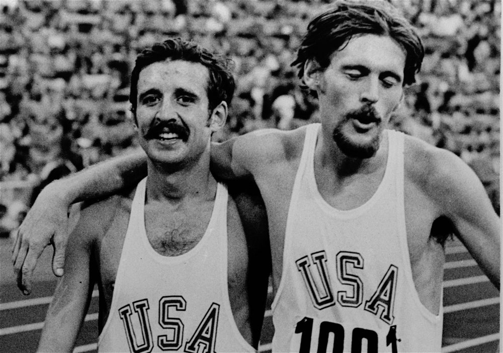 for olympian frank shorter running was an escape from a home that
