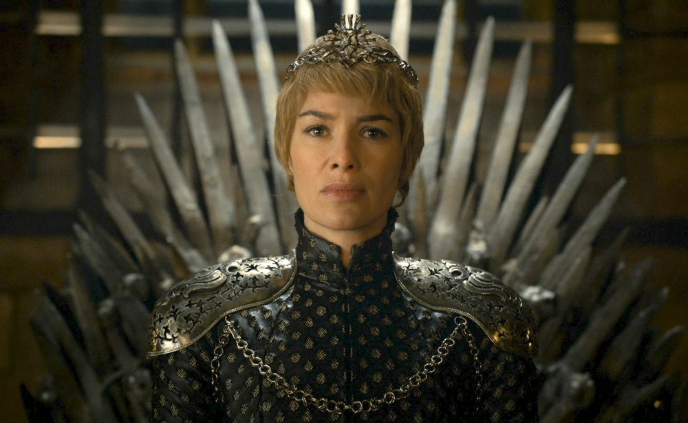 "Actress Lena Headey appears in a scene from ""Game of Thrones."" (HBO via AP)"