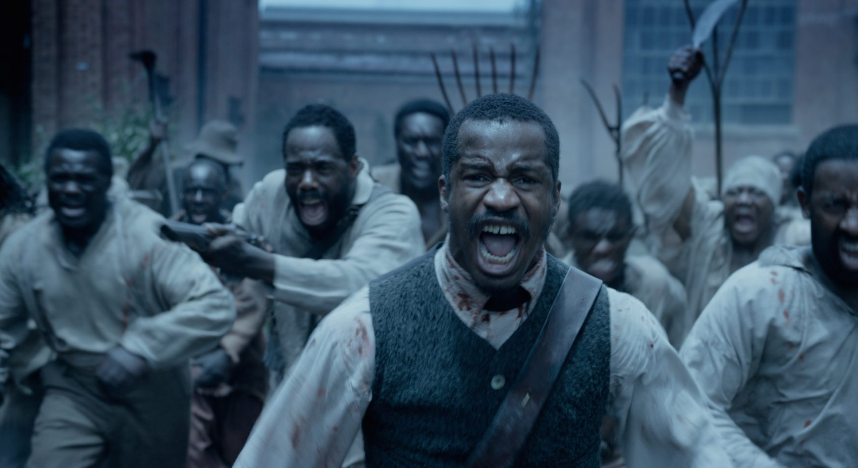 "Nate Parker as Nat Turner in ""The Birth of a Nation."" (Courtesy of Fox Searchlight Pictures)"