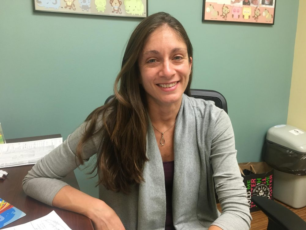 Dr. Christine Curry treats pregnant women in South Florida who have had Zika. (Sammy Mack/WLRN)