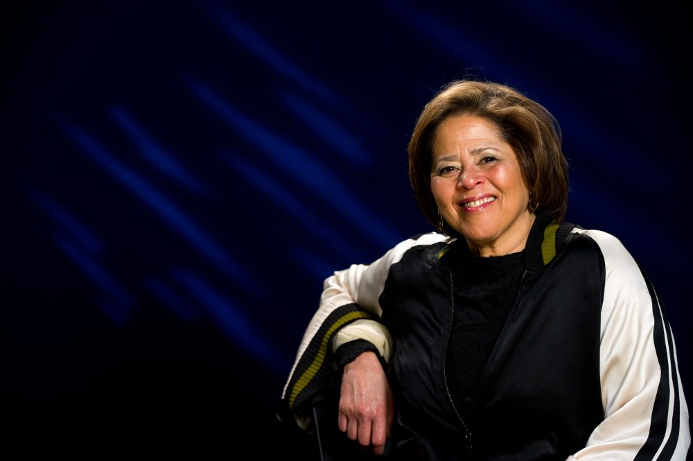 Anna Deavere Smith poses for a portrait in New York in 2011. (Charles Sykes/AP)