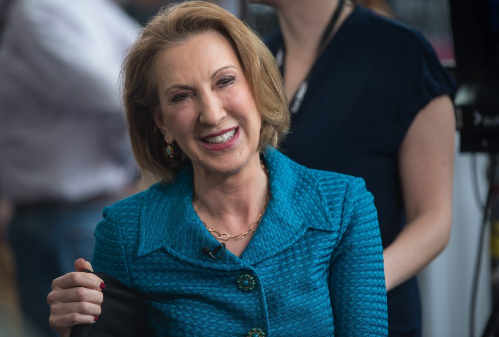 "Carly Fiorina, former CEO of Hewlett-Packard, is an example of an extrovert ""hired with fanfare"" but whose ""corporate results didn't live up to expectations,"" according to Quartz. (Nicholas Kamm/AFP/Getty Images)"