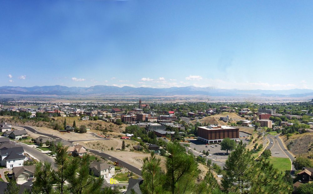 A view overlooking Helena, Montana, the state's capital. (RTC/Wikimedia Commons)