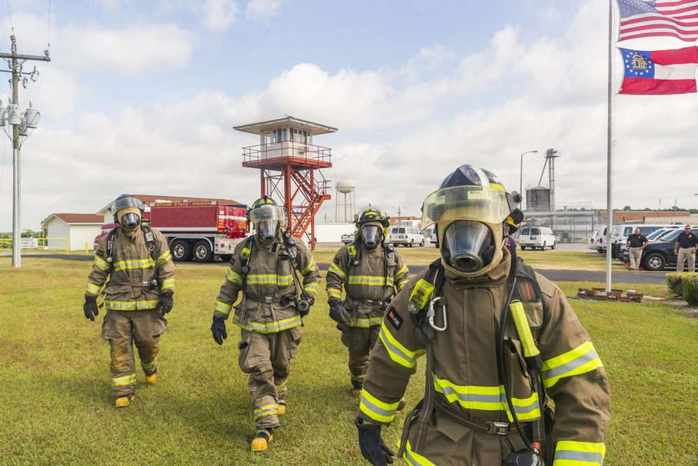 Felons-Turned-Firefighters On The Job In Georgia | Here & Now