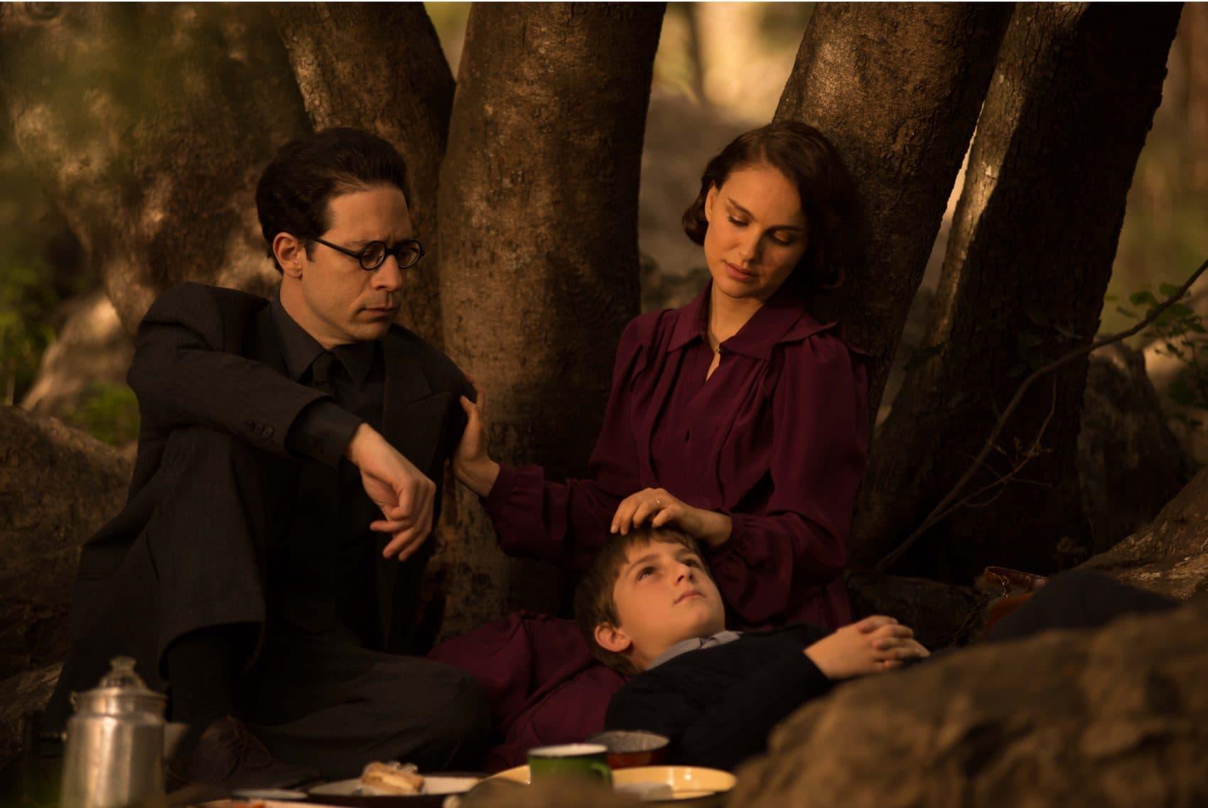 "Gilad Kahana, Natalie Portman and Amir Tessler in ""A Tale of Love and Darkness."" (Courtesy Ran Mendelson/Focus World)"