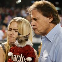 Legendary Cardinals manager Tony La Russa's tenure as GM of the struggling Diamondbacks feels like a fall from grace. (Christian Petersen/Getty Images)