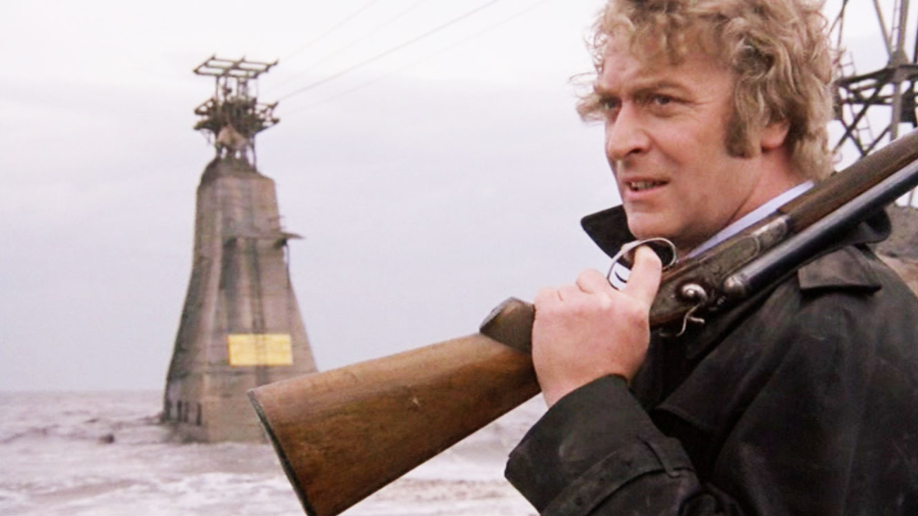 """Michael Caine in """"Get Carter."""" (Courtesy Somerville Theatre)"""