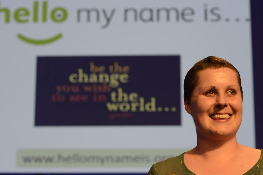 Dr. Kate Granger in 2014 (The BMA/Flickr Creative Commons)