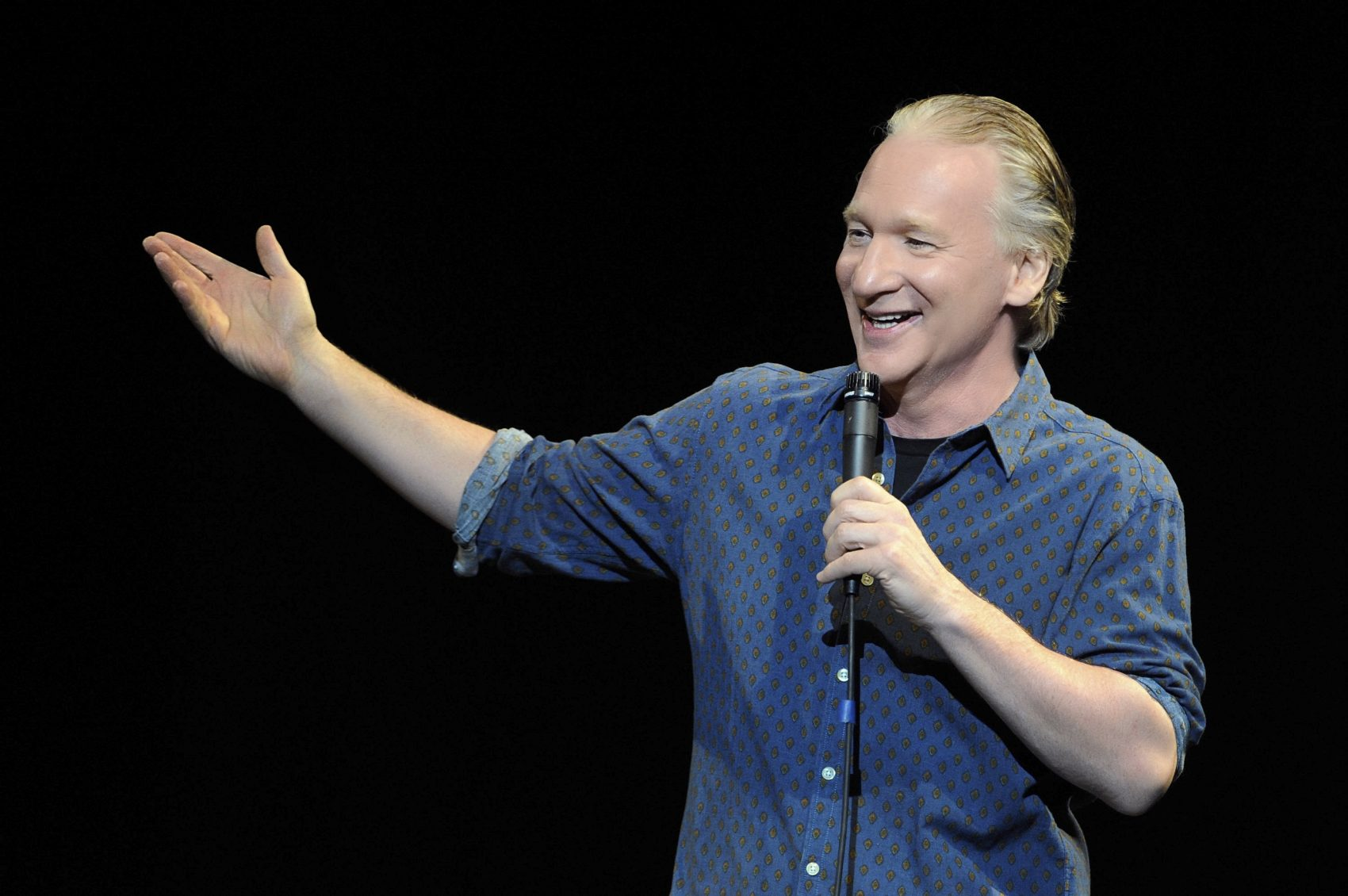 Bill Maher performs at the Palms Casino Resort in 2013 in Las Vegas. (Courtesy David Becker/WireImage)
