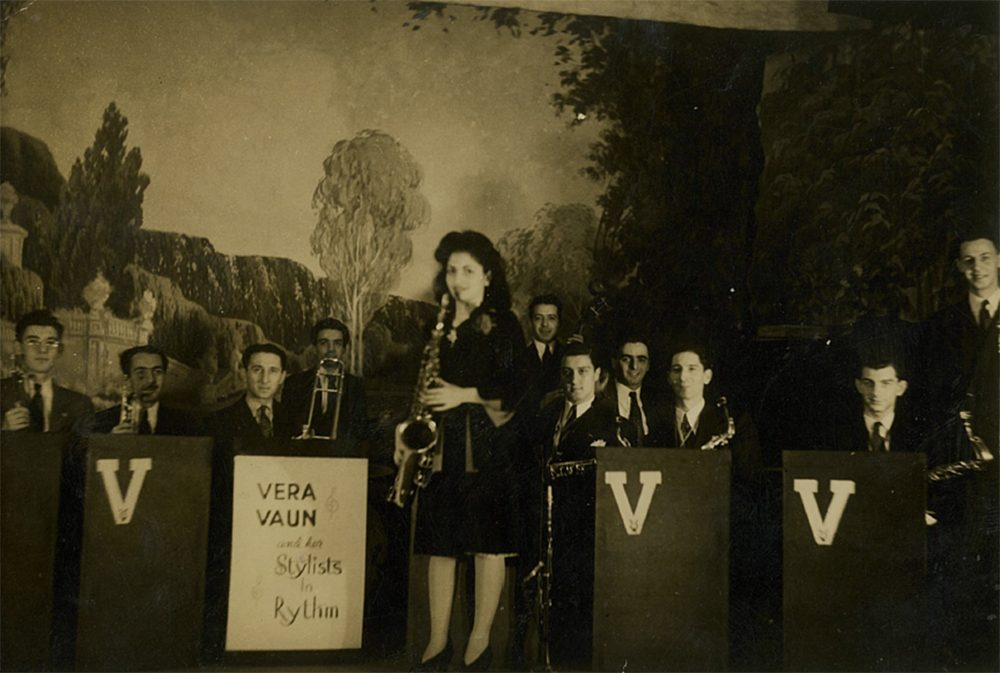 Vera Vaun and her Stylists in Rhythm (Courtesy of the Fortunato family)