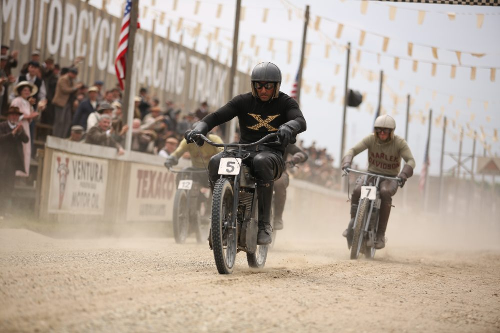 "A still frame from an episode of the Discovery Channel series ""Harley and the Davidsons,"" which focuses on the origins and foundation of the motorcycle company Harley-Davidson. (Courtesy Discovery Channel)"