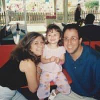 Jill Gartenberg with her husband James Gartenberg, who died in the 9/11 attacks, and their daughter Nicole. (Courtesy Jill Gartenberg Pila)
