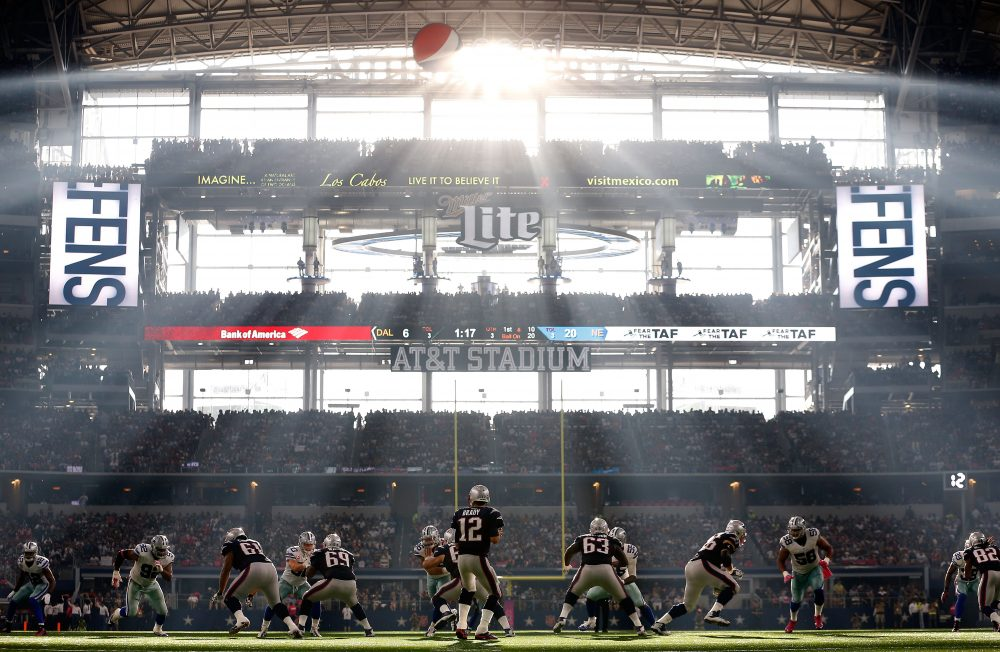No matter the countless controversies, the NFL is still as popular as ever. (Christian Petersen/Getty Images)