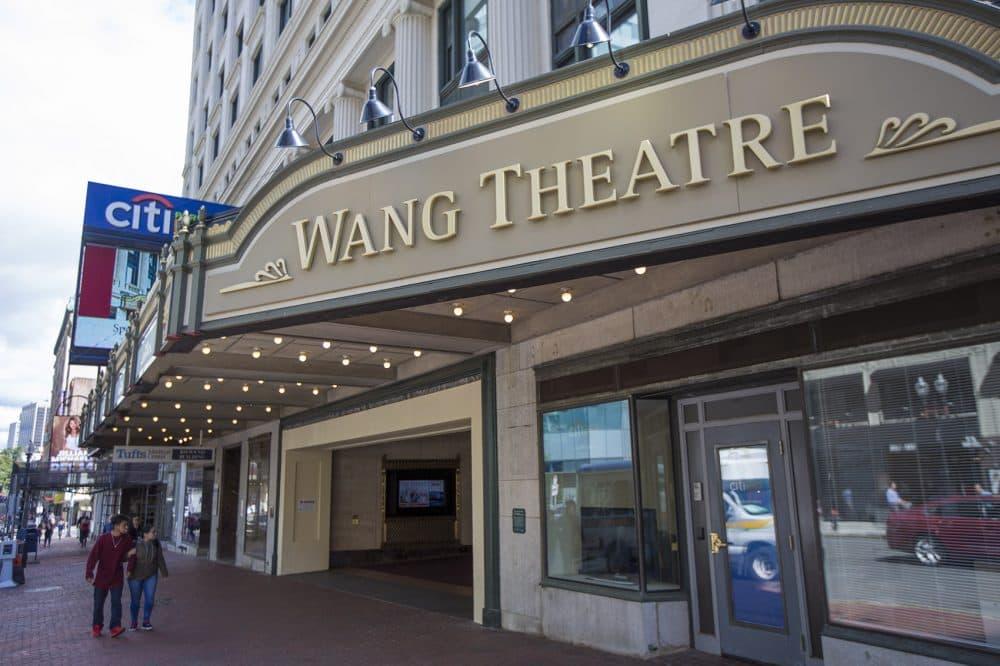 The Wang Theatre on Tremont Street (Jesse Costa/WBUR)