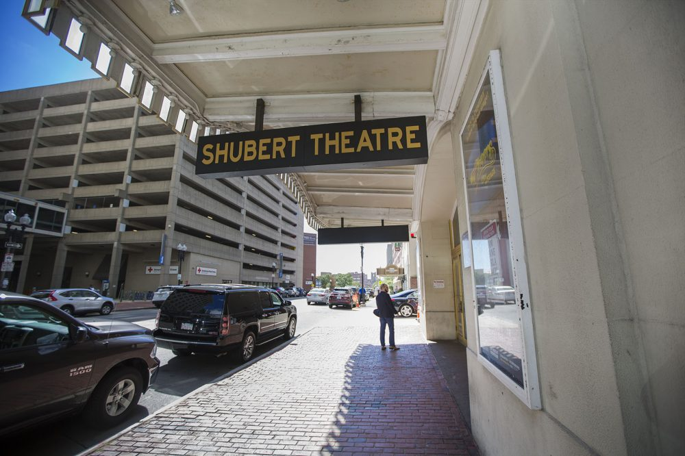 The Shubert Theatre on Tremont Street is part of the Boch Center. (Jesse Costa/WBUR)