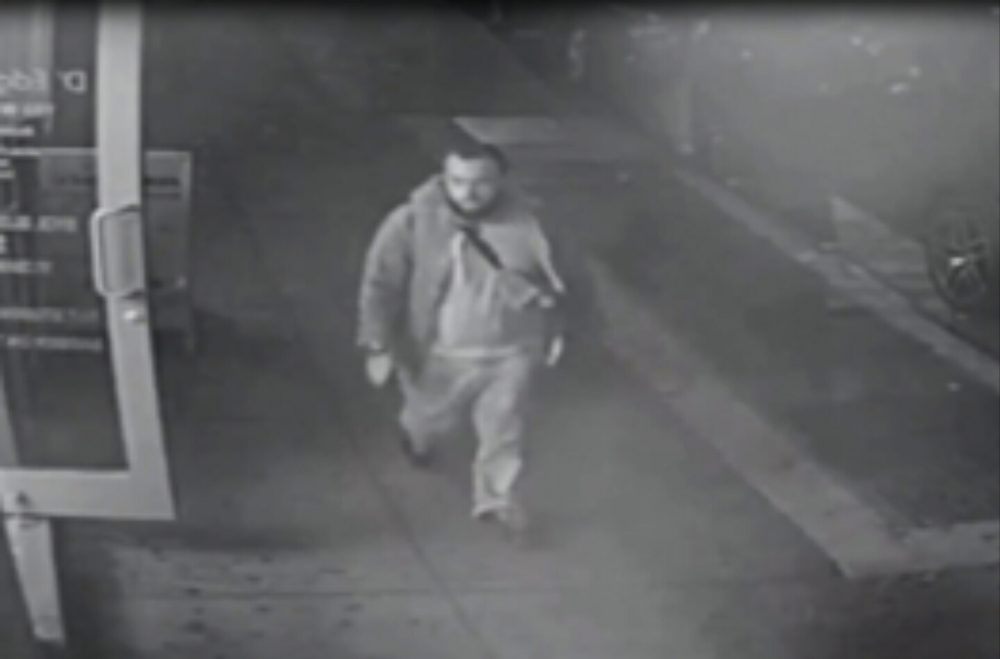 This frame from surveillance video released by the New Jersey State Police shows Ahmad Khan Rahami, wanted for questioning Monday, Sept. 19, 2016, in bombings that rocked the Chelsea neighborhood of New York and the New Jersey shore town Seaside Park over the weekend. (New Jersey State Police via AP)