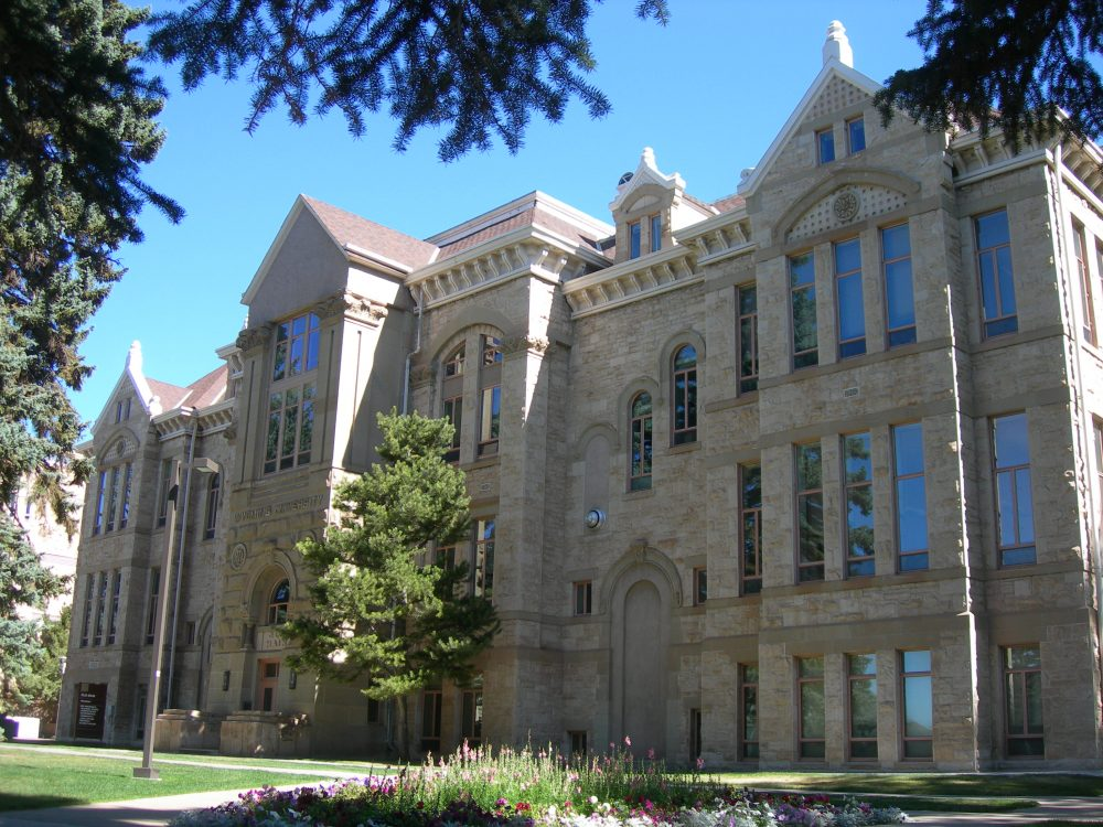 Old Main on the University of Wyoming campus in Laramie, Wyo. (jimmywayne/Flickr)