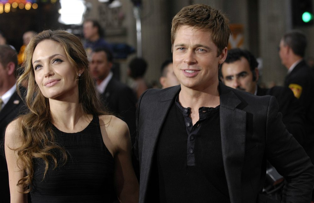 "In this June 5, 2007 file photo, Angelina Jolie and Brad Pitt are pictured at the premiere of the film ""Ocean's Thirteen"" at Grauman's Chinese Theatre in Los Angeles. Angelina Jolie Pitt has filed for divorce from Brad Pitt, bringing an end to one of the world's most star-studded, tabloid-generating romances. An attorney for Jolie Pitt said on Tuesday, Sept. 20, 2016, that she has filed for the dissolution of the marriage. (Chris Pizzello/AP)"