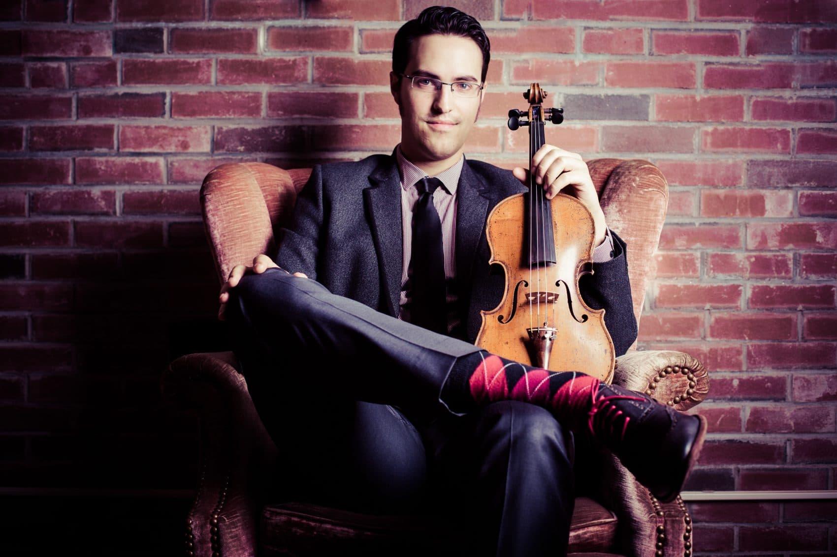 Jazz violinist Jason Anick founded the Rhythm Future Quartet and teaches at Berklee. (Courtesy Jason Anick)