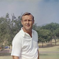 "Arnold Palmer, who made golf popular for the masses with his hard-charging style, incomparable charisma and a personal touch that made him known throughout the golf world as ""The King,"" died Sunday, Sept. 25, 2016, in Pittsburgh. He was 87. He is pictured here in 1970. (AP)"
