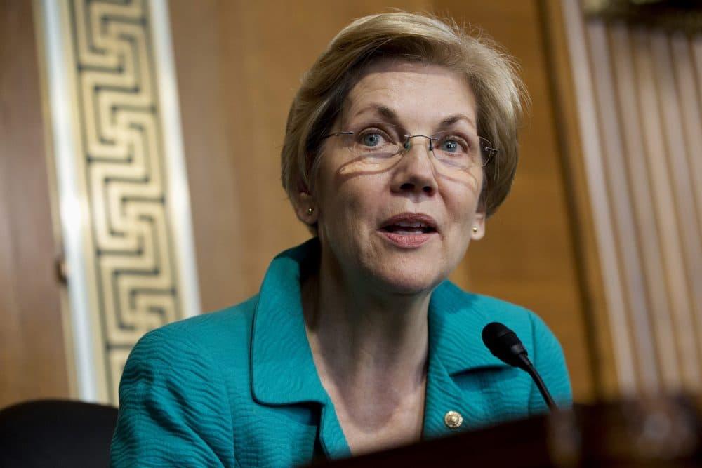 Sen. Elizabeth Warren said she plans to vote no on Question 2 on her ballot in November. (Jacquelyn Martin/AP)