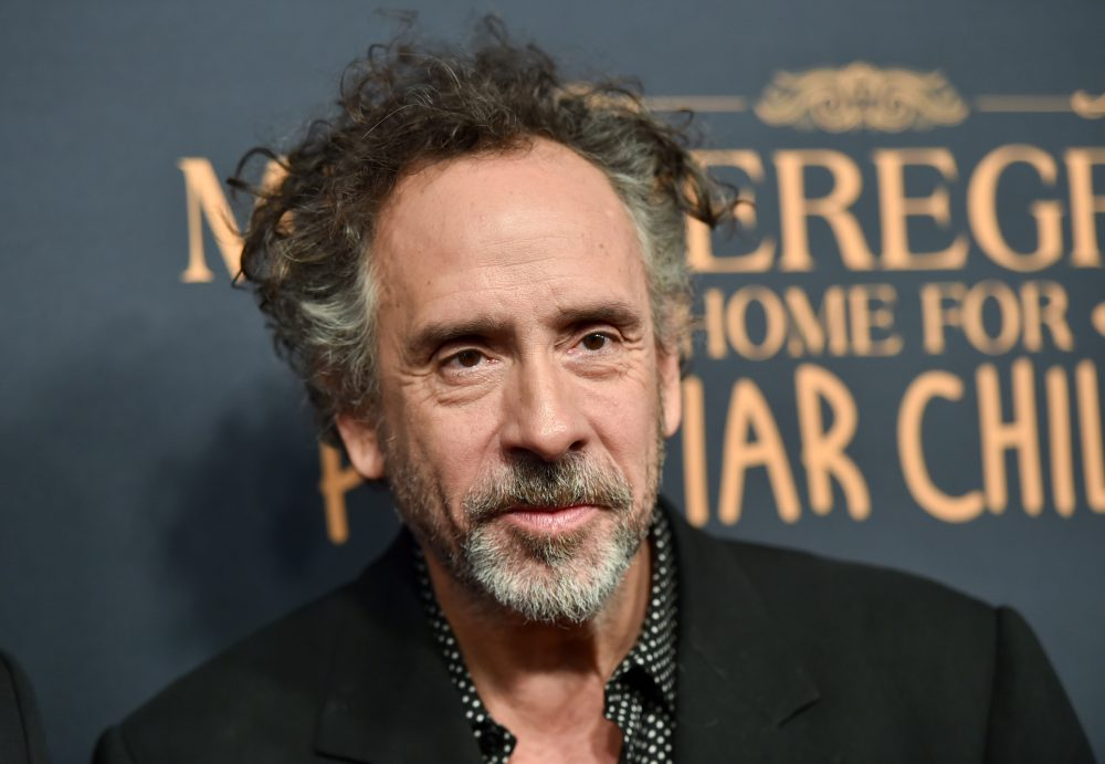 """Director Tim Burton attends a """"Miss Peregrine's Home for Peculiar Children"""" red carpet event at Saks 5th Avenue on Monday, Sept. 26, 2016, in New York. (Evan Agostini/Invision/AP)"""