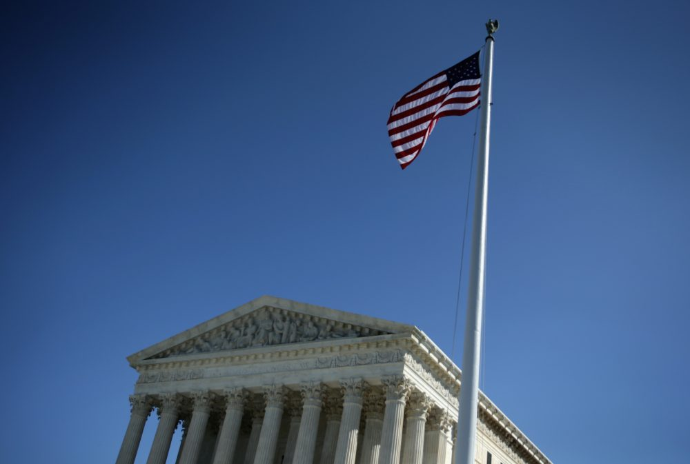 The U.S. Supreme Court is seen Oct. 6, 2014, in Washington. (Alex Wong/Getty Images)