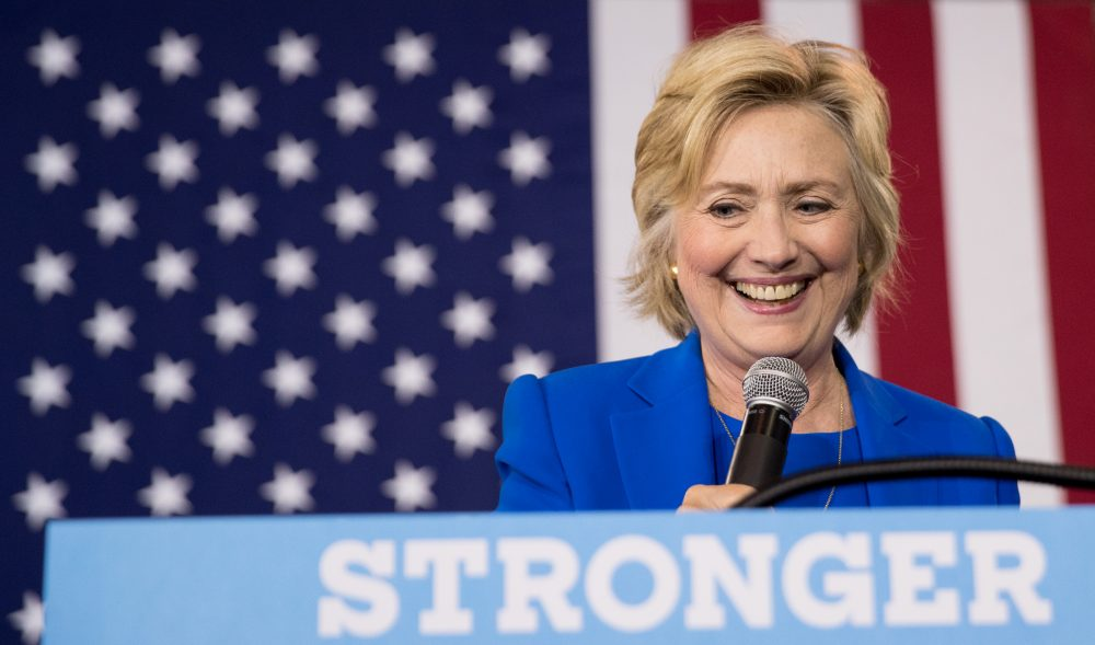 Democratic presidential candidate Hillary Clinton, in a file photo. (Andrew Harnik/AP)