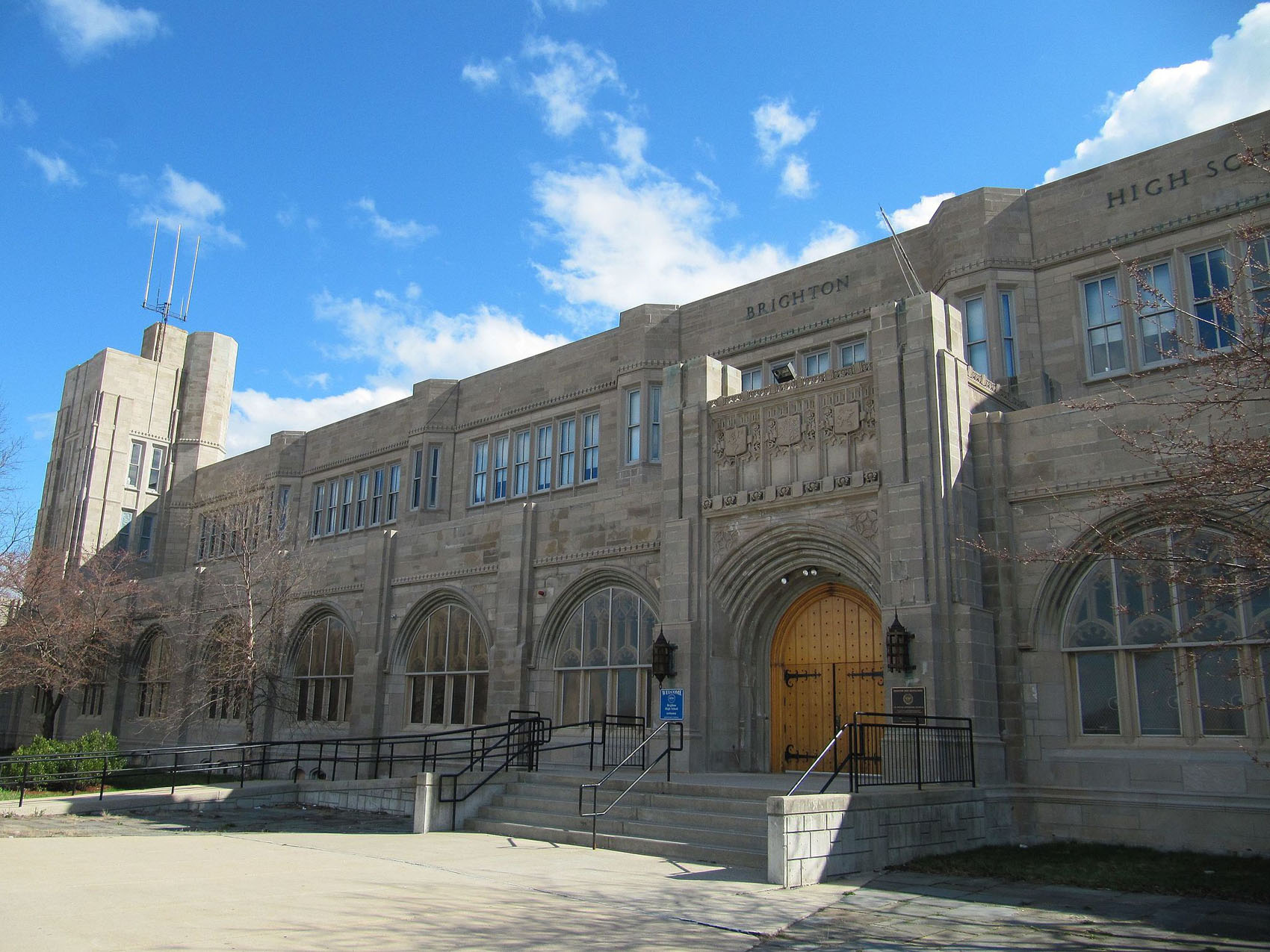 Brighton High School. (Wikimedia Commons)